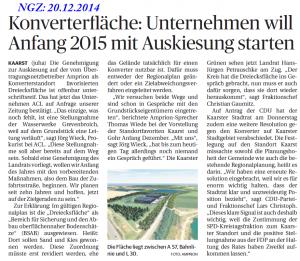 Pressemeldung_NGZ vom 20.12.2014