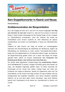 Pressemitteilung_keinKonverterKaarstNeuss_150414_Seite_1