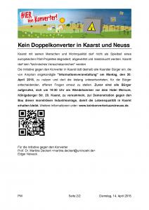 Pressemitteilung_keinKonverterKaarstNeuss_150414_Seite_2